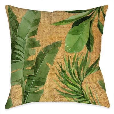 Palm Isle Outdoor Pillow
