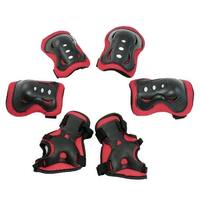 6 in 1 Skateboard Skating Protective Pad Set Palm Guard Kneepad Elbow Support for Child