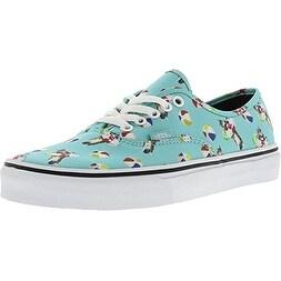 Vans Unisex Authentic Pool Vibes Skate Shoes-Pool Vibes/Aqua Sea-8.5-Women/7-Men