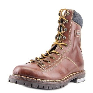 DSquared2 AB110 Round Toe Leather Winter Boot
