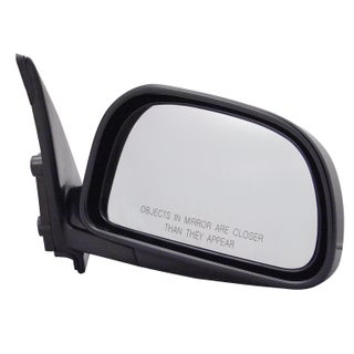 Pilot Automotive TYC 6540031 Black Passenger/ Driver Side Power Non-Heated Replacement Mirror for Mitsubishi Mirage