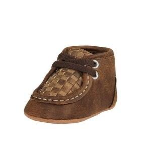 Double Barrel Western Shoes Boys Carson Chukka Baby Buckers