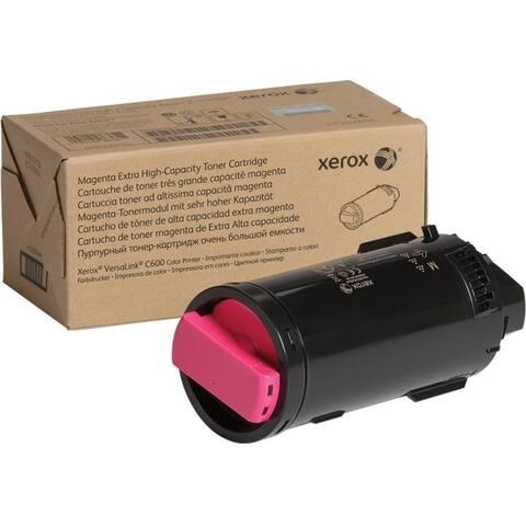 Xerox 106r03917 genuine xerox magenta extra high capacity toner cartridge for the versalink c600