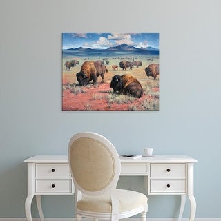 Easy Art Prints Jack Sorenson's 'Home on the Range' Premium Canvas Art