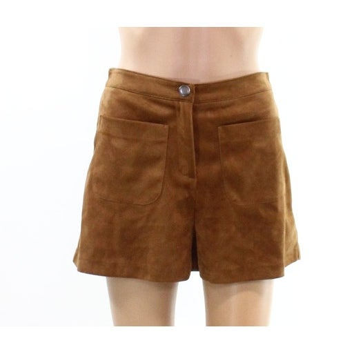 ff8e05615a Shop Lush NEW Camel Brown Womens Size Small S Faux-Suede Casual ...