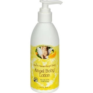 Earth Mama Angel Baby - Vanilla Orange Baby Lotion ( 1 - 8 FZ)