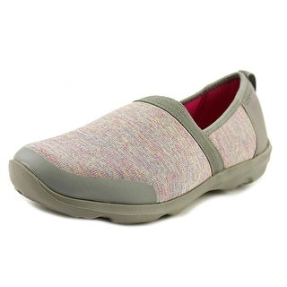 Crocs Busyday Round Toe Canvas Loafer