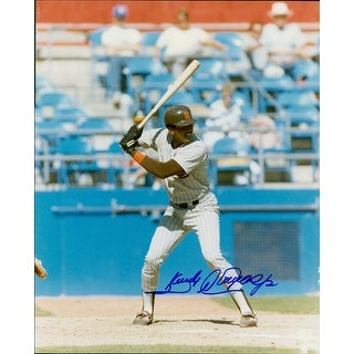 Signed Alomar Sandy Jr San Diego Padres 8x10 Photo autographed