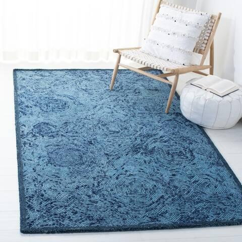 SAFAVIEH Handmade Ikat Anife Wool Rug