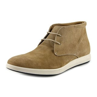 Sandro Moscoloni Hannibal Men Round Toe Suede Tan Chukka Boot