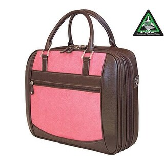 """Mobile Edge Women's Checkpoint Friendly Element Briefcase- 16"""" Pink - us women's one size (size none)"""