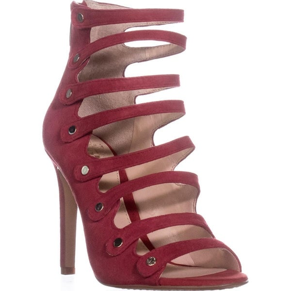 Vince Camuto Kanastas Multi Strap Dress Sandals, Pop Red