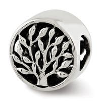 Sterling Silver Reflections Tree Bead (4mm Diameter Hole)