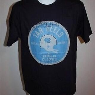 UNC North Carolina TarHeels MENS MEDIUM M Nice Navy Blue T Shirt 29XQ