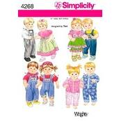 One Size - Simplicity 15 Baby Doll Clothes