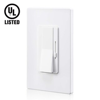 Dimmer with On/Off Switch for LED Lights, Single Pole/3-Way