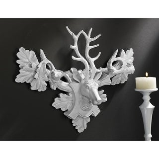 Design Toscano Tres Chic Deer Head Wall Sculpture