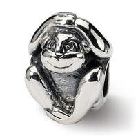 Sterling Silver Reflections Monkey Bead (4mm Diameter Hole)