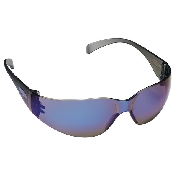 3M 90525-80025T Tekk Protection Virtua Safety Eyewear with Blue Mirror Lens