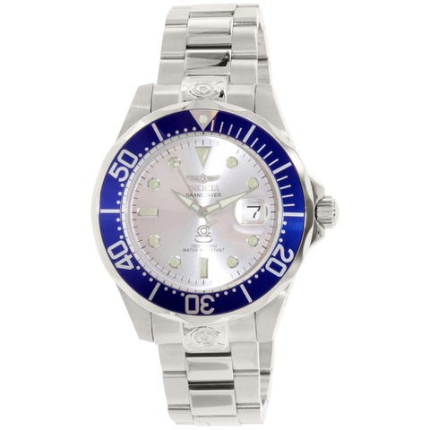 Invicta Men's Pro Diver Silver Stainless-Steel Automatic Diving Watch