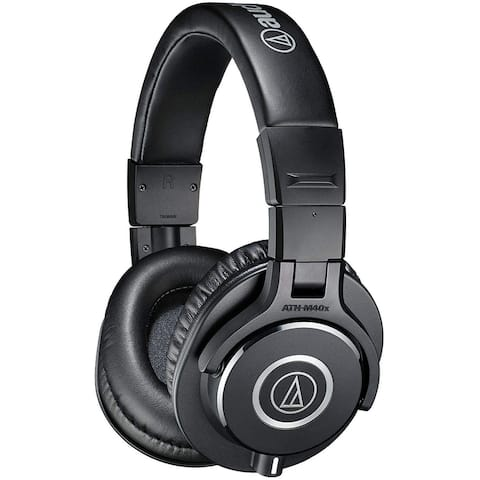 Audio-Technica Professional Studio Monitor Headphone, Black
