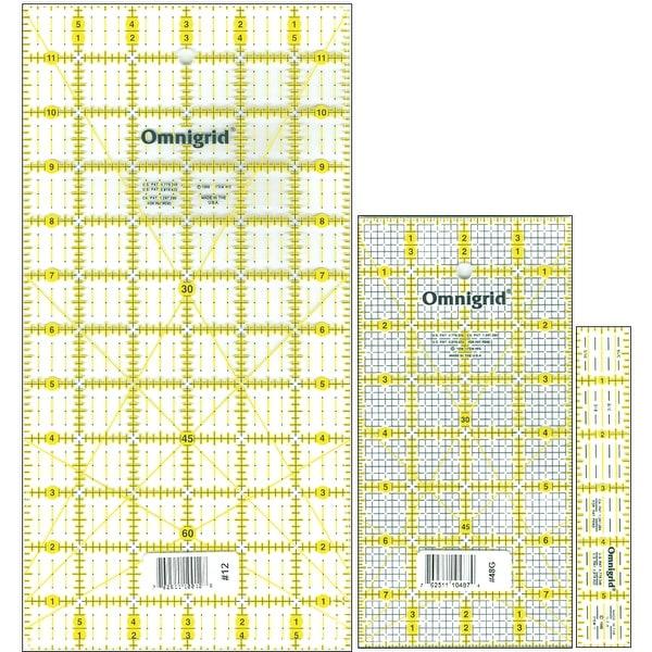 Omnigrid Ruler Set-Basics 3/Pkg