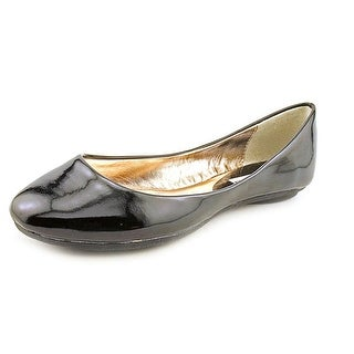 Steve Madden P-Heaven Women  Round Toe Synthetic Black Flats