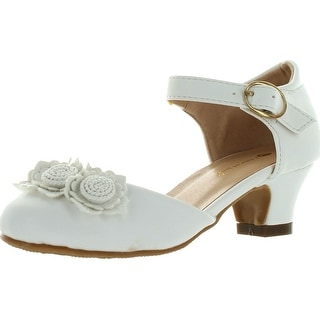 Chase & Chloe Girls Britney-3K Stunning Heels Party Dress Occasion Shoes