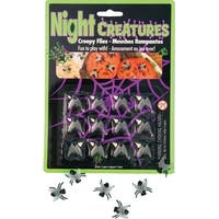 Flies Halloween Decoration Pack Of 12