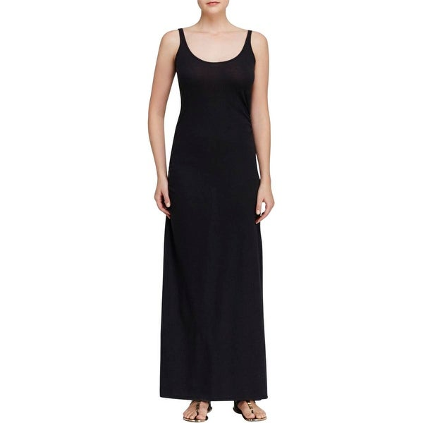 Alternative Apparel Womens Maxi Dress Jersey Ruched