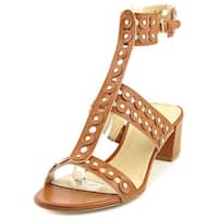 Marc Fisher Womens Jullep Open Toe Casual T-Strap Sandals