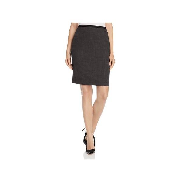 60f8877733d5c Shop Elie Tahari Womens Bennet Pencil Skirt Wool Above Knee - Free ...