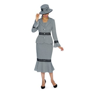 Link to Giovanna Signature Women's 2-pc Polka Dot Brocade Suit Similar Items in Suits & Suit Separates