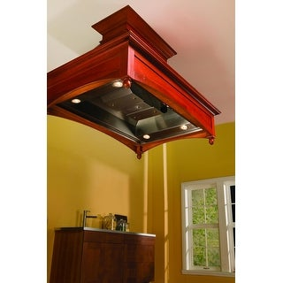 """Vent-A-Hood TH248SLE  550 CFM 48"""" Island Mounted Liner with Dual Blowers LED Lights - Stainless Steel"""