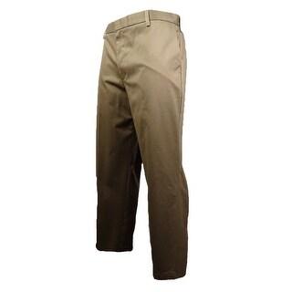 Dockers Men's All Day Classic Fit Pants (Dark Khaki, 32x32) - Dark Khaki - 32X32