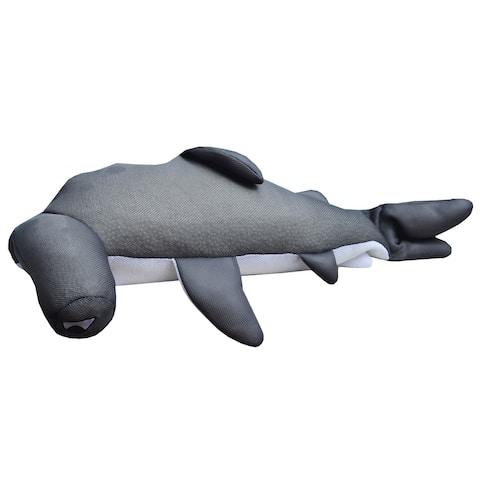 "36"" Nails Seaside Rider Stuffed Floating Hammerhead Shark Swimming Pool Pillow"