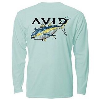 Avid Mens Tuna Watermark AVIDry L/S (50+ UPF)