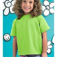 Rabbit Skins 3301T Toddler T-Shirt, Key Lime, 3T