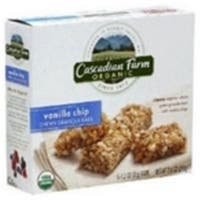 Cascadian Farms  Cascadian Farm Vanilla Chip Granola Bar - 3x7.4 oz.