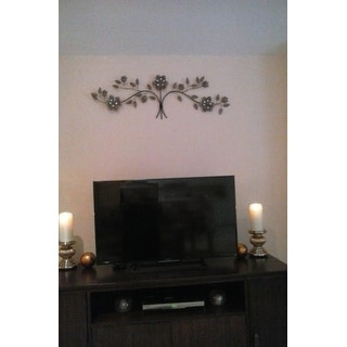 shop stratton home decor floral bouquet over the door wall decor free shipping today. Black Bedroom Furniture Sets. Home Design Ideas