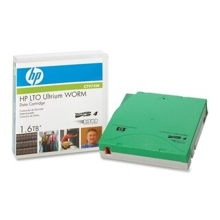 Hewlett Packard C7974W HP LTO Ultrium 4 WORM Tape Cartridge - LTO-4 - WORM - 800