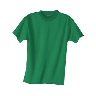 Hanes Kids' Beefy-T T-Shirt - Size - M - Color - Kelly Green