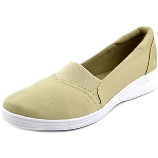Grasshoppers Jade Twill Women W Round Toe Canvas Tan Sneakers