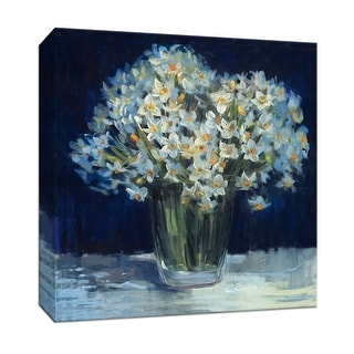 """PTM Images 9-153341  PTM Canvas Collection 12"""" x 12"""" - """"Spring Twilight II"""" Giclee Flowers Art Print on Canvas"""