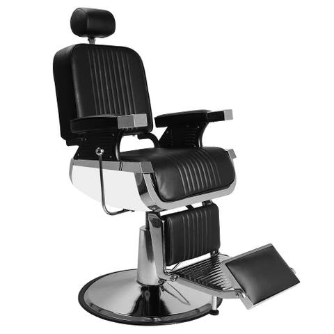 Hydraulic Barber Chair Heavy Duty All Purpose Salon Chair Styling Equipment for Spa Beauty