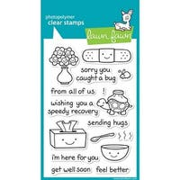 """On The Mend - Lawn Fawn Clear Stamps 4""""X6"""""""
