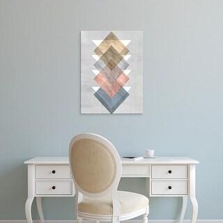Easy Art Prints Jennifer Goldberger's 'Diamond Allign I' Premium Canvas Art