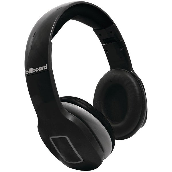 917a31b1b3e Billboard Bluetooth Wireless Folding Headphones With Enhanced Bass,  Controls, and Microphone - Black -
