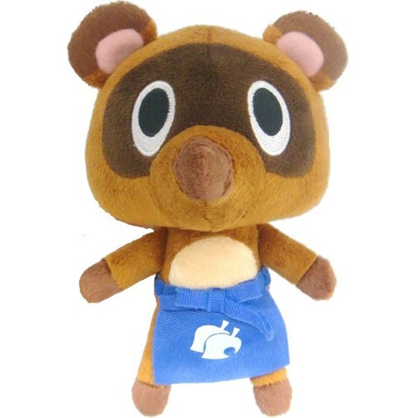 Shop Animal Crossing 5 Plush Timmy Store Clerk With Hat Multi