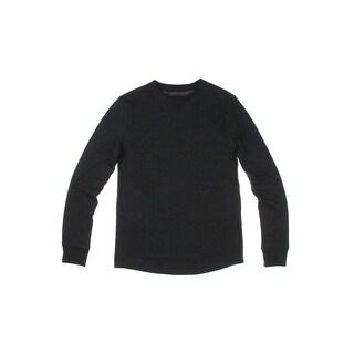 Hanes Mens Thermal Shirt Crew Neck Long Sleeves - L